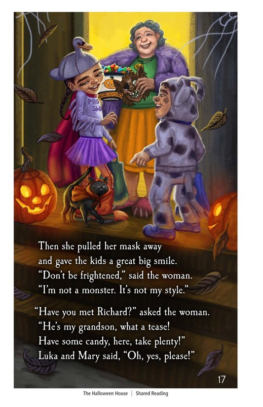 Book Preview For The Halloween House Page 17