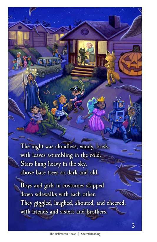 Book Preview For The Halloween House Page 3