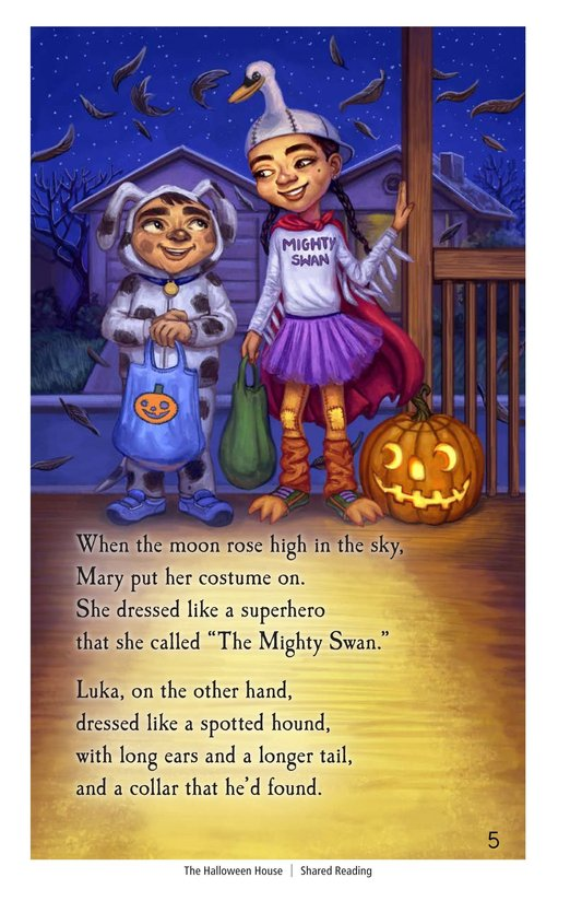 Book Preview For The Halloween House Page 5