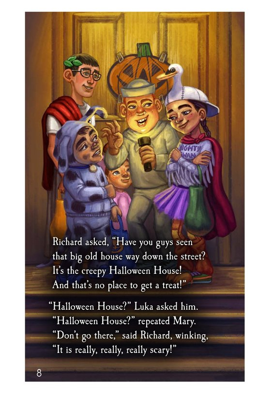 Book Preview For The Halloween House Page 8