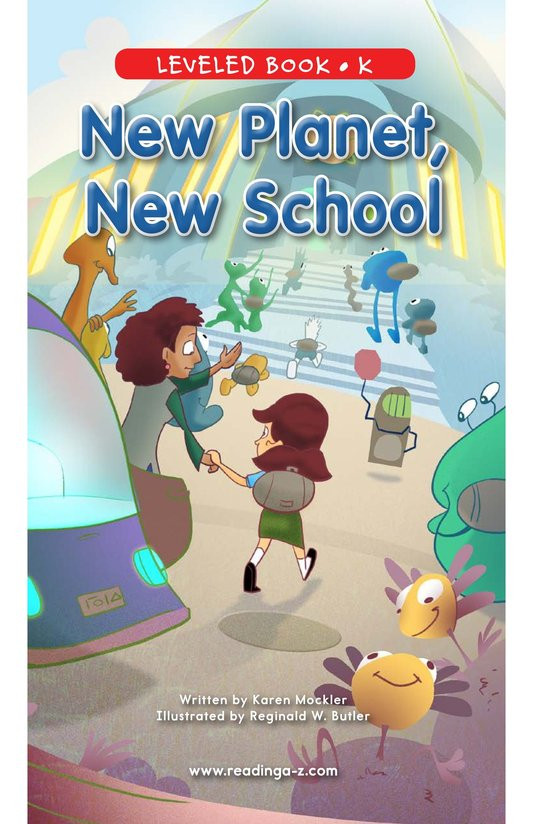 Book Preview For New Planet, New School Page 1