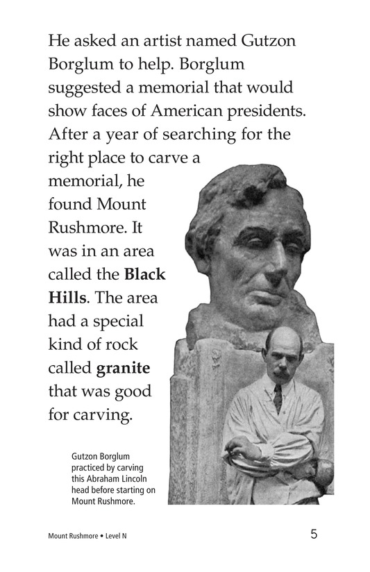 Book Preview For Mount Rushmore Page 5