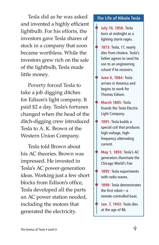 Book Preview For The Genius of Tesla Page 9