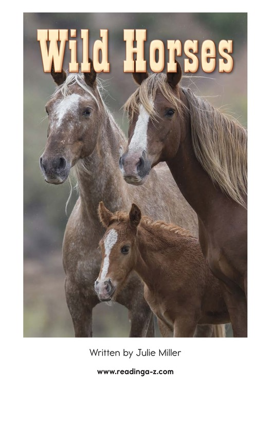 Book Preview For Wild Horses Page 2