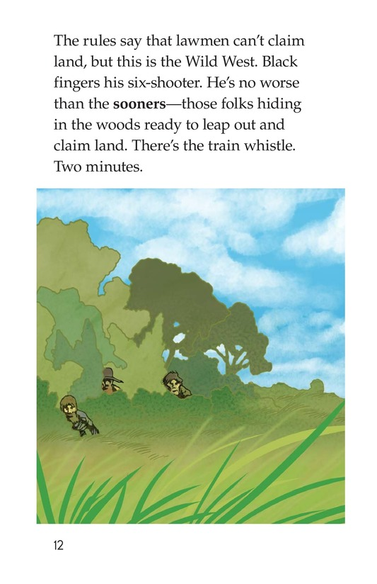 Book Preview For The Great Land Run Page 12