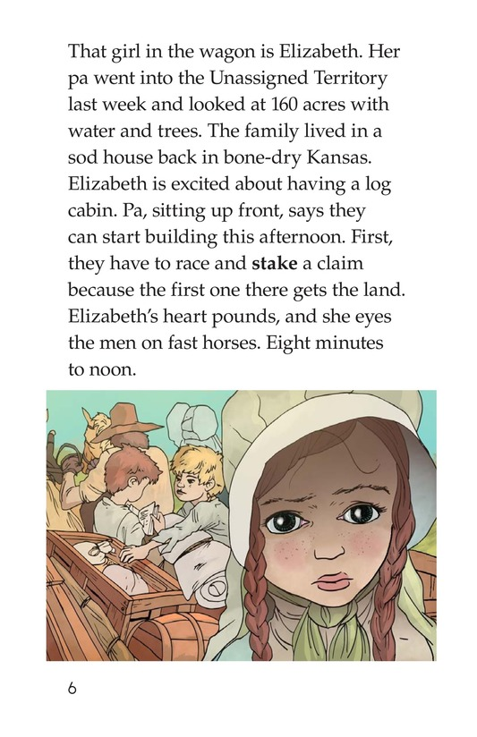 Book Preview For The Great Land Run Page 6