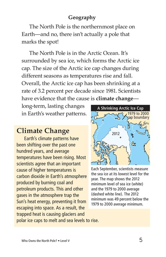 Book Preview For Who Owns the North Pole? Page 5