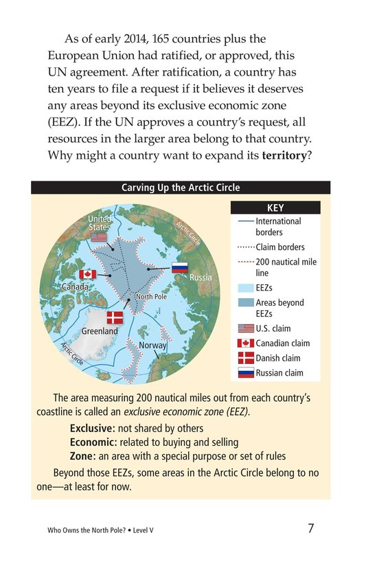Book Preview For Who Owns the North Pole? Page 7