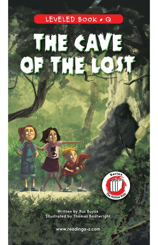 Book Preview For The Cave of the Lost Page 1