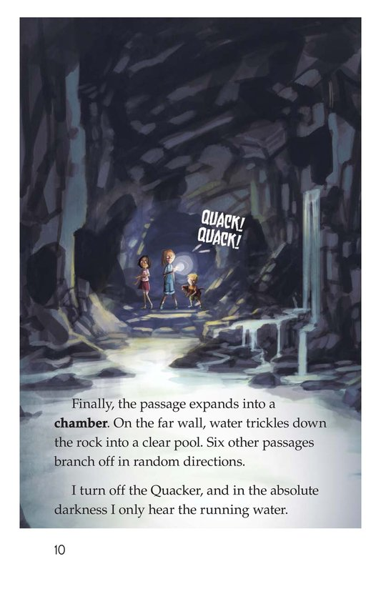 Book Preview For The Cave of the Lost Page 10