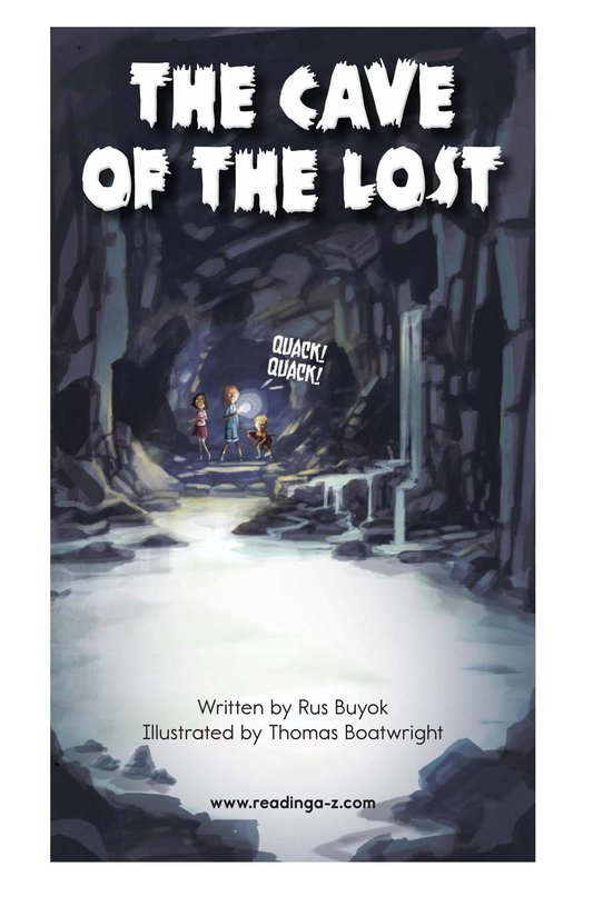 Book Preview For The Cave of the Lost Page 2