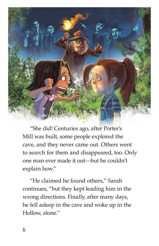 Book Preview For The Cave of the Lost Page 6