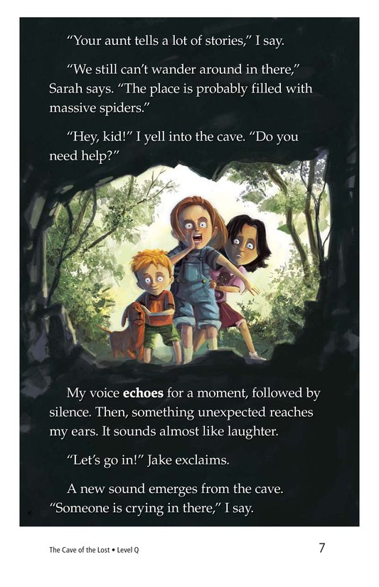 Book Preview For The Cave of the Lost Page 7
