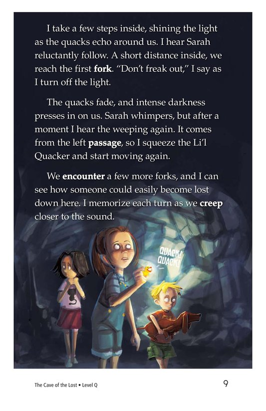 Book Preview For The Cave of the Lost Page 9