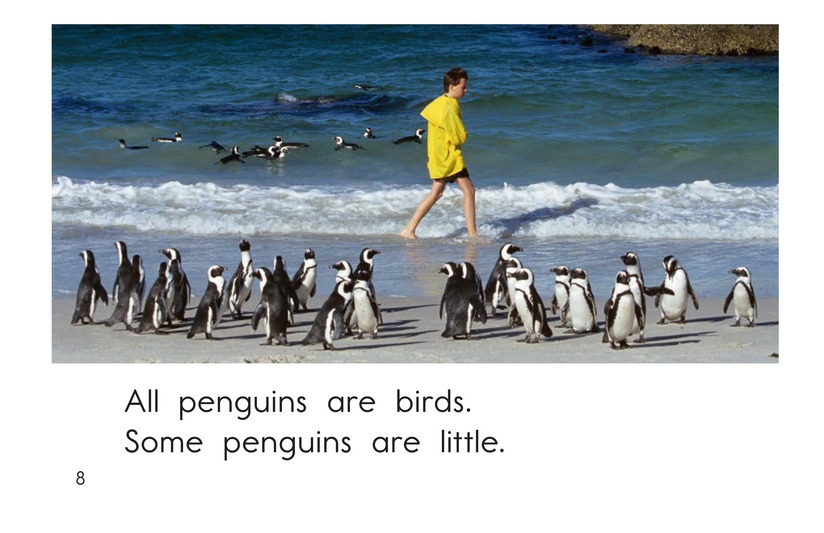 Book Preview For All About Penguins Page 8