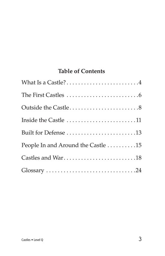 Book Preview For Castles Page 3