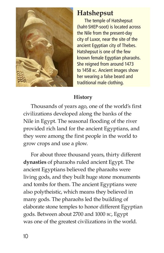 Book Preview For Egypt Page 10