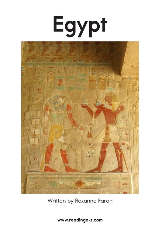 Book Preview For Egypt Page 2