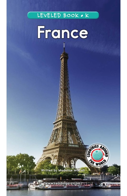 Book Preview For France Page 1