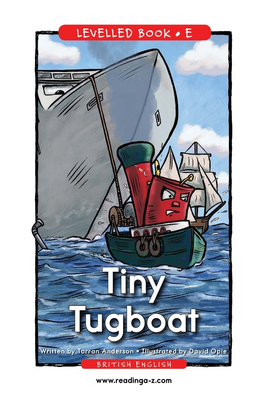 Book Preview For Tiny Tugboat Page 1