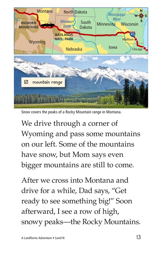 Book Preview For A Landforms Adventure Page 13