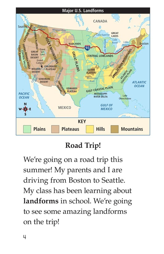 Book Preview For A Landforms Adventure Page 4