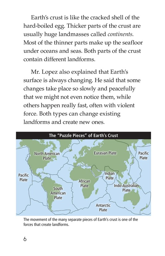 Book Preview For A Landforms Adventure Page 6