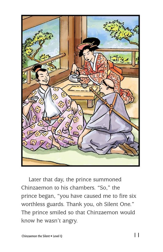 Book Preview For Chinzaemon the Silent Page 11