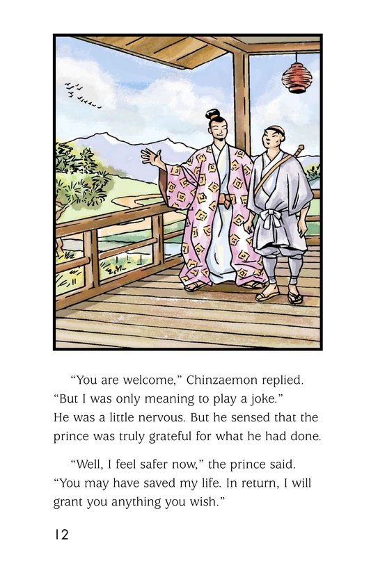 Book Preview For Chinzaemon the Silent Page 12
