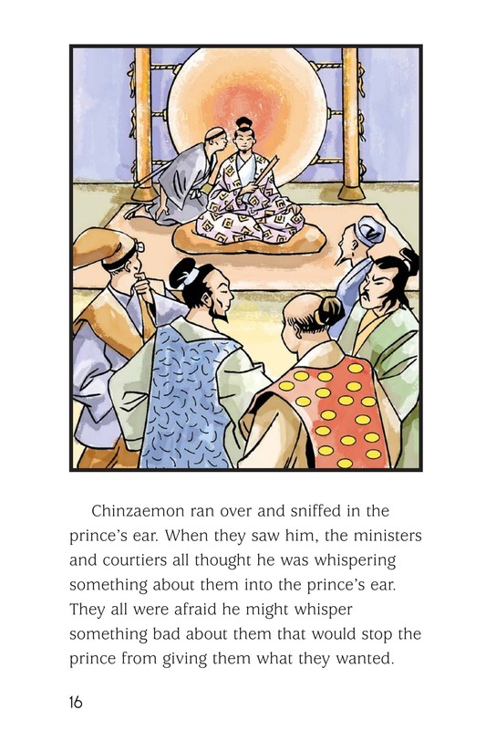 Book Preview For Chinzaemon the Silent Page 16