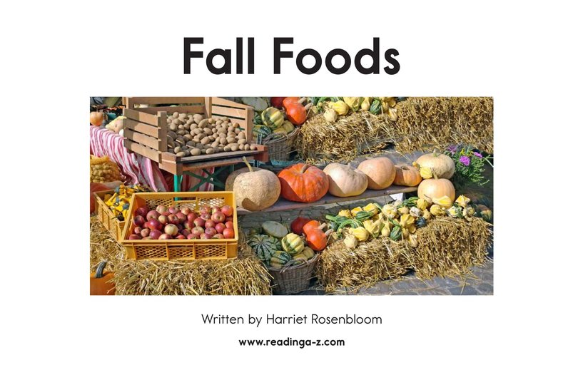Book Preview For Fall Foods Page 2