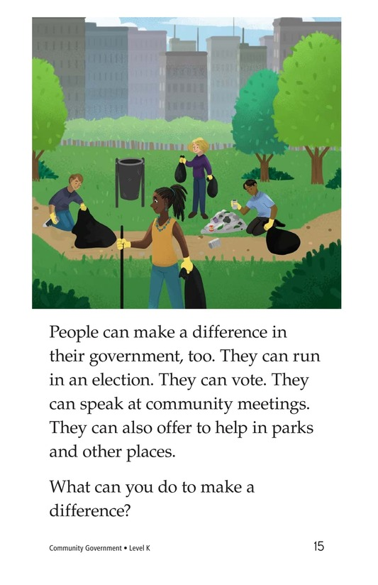 Book Preview For Community Government Page 15