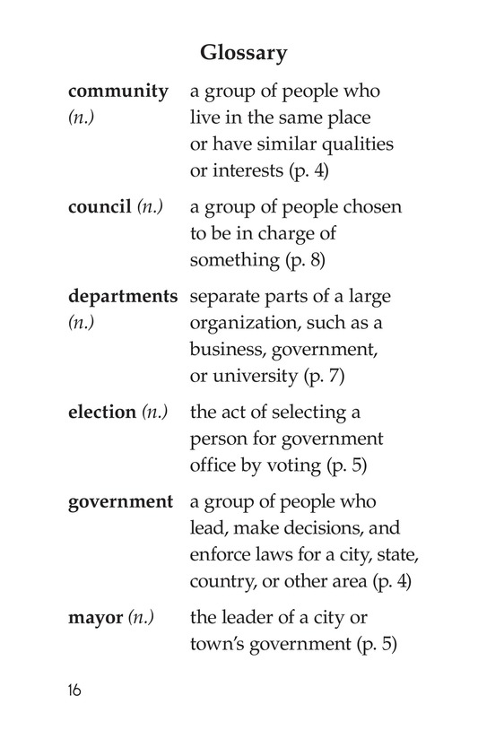 Book Preview For Community Government Page 16