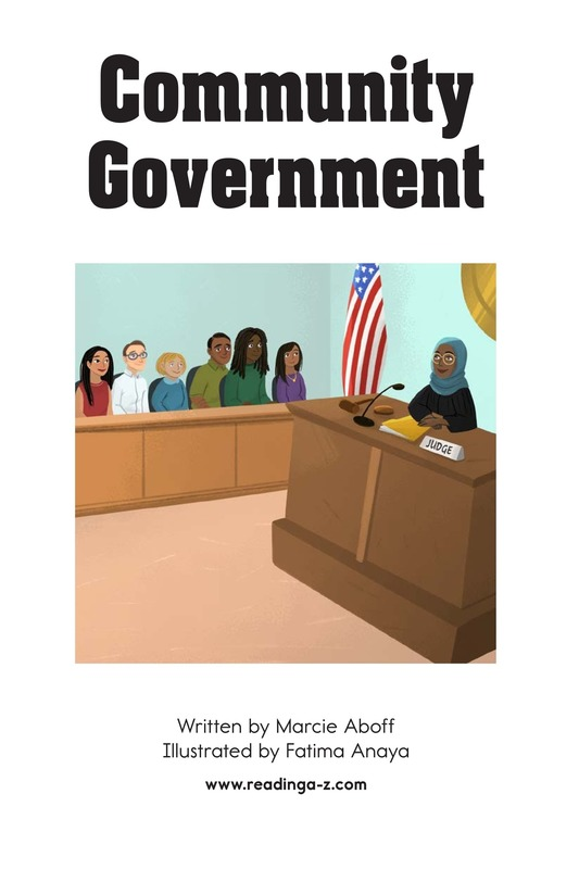 Book Preview For Community Government Page 2