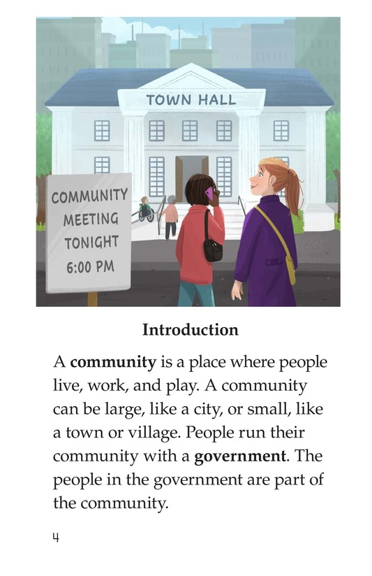 Book Preview For Community Government Page 4
