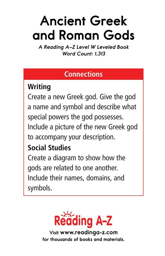 Book Preview For Ancient Greek and Roman Gods Page 17