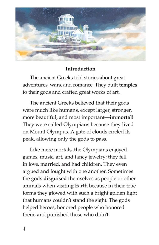 Book Preview For Ancient Greek and Roman Gods Page 4