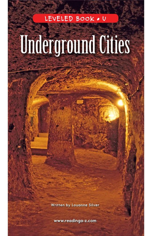 Book Preview For Underground Cities Page 1