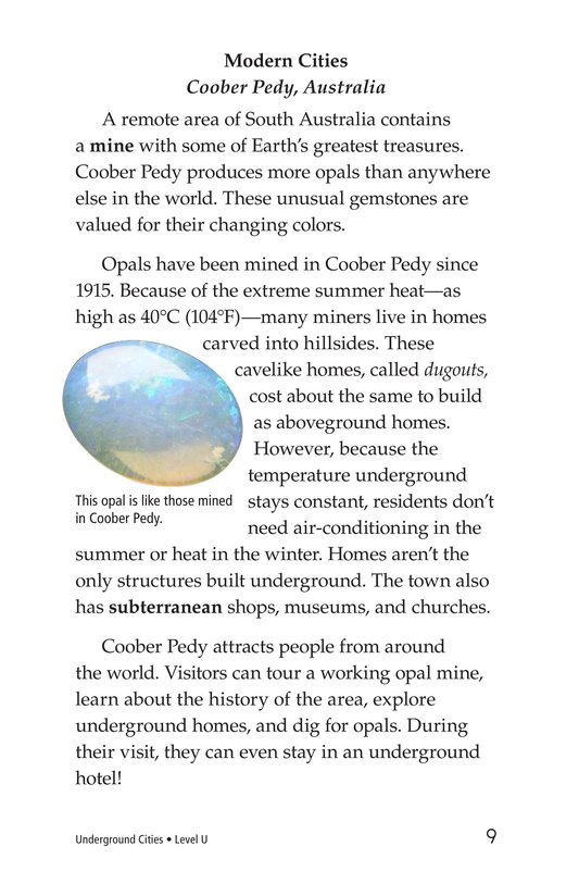 Book Preview For Underground Cities Page 9