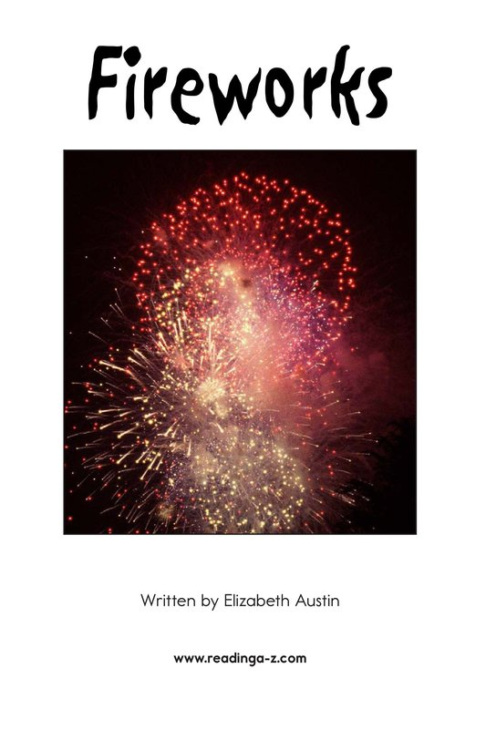 Book Preview For Fireworks Page 2
