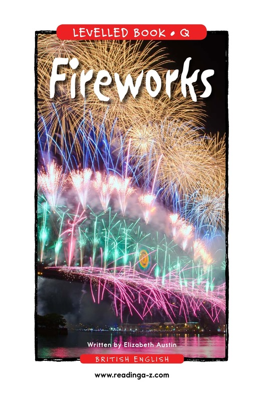 Book Preview For Fireworks Page 1