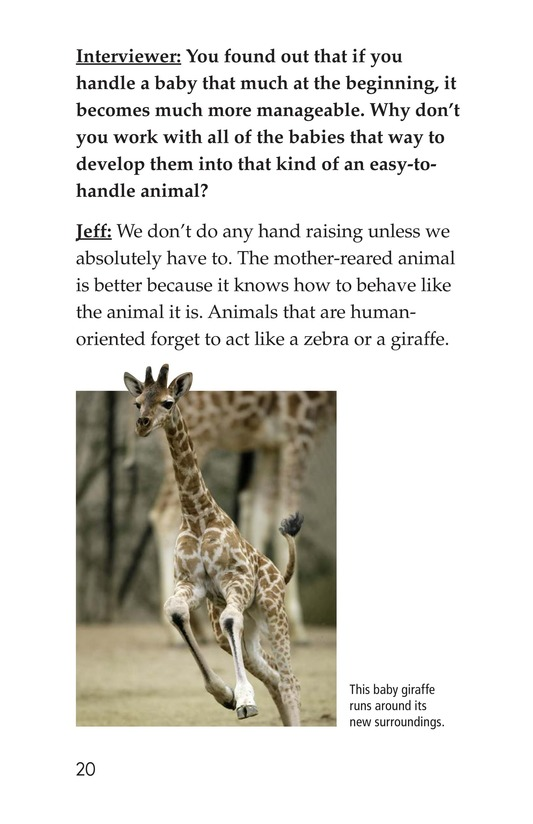 Book Preview For Zookeeping Page 20
