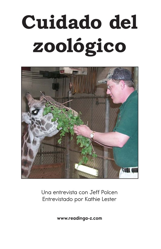 Book Preview For Zookeeping Page 2