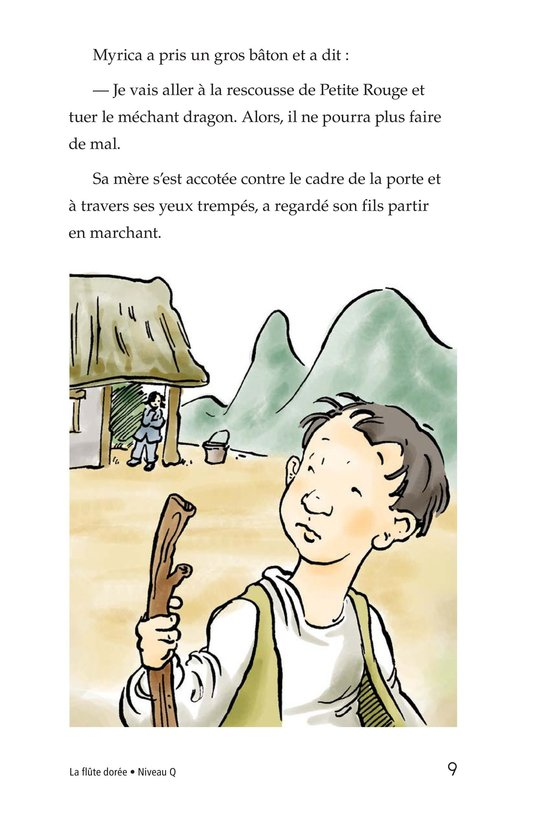 Book Preview For The Golden Flute Page 9