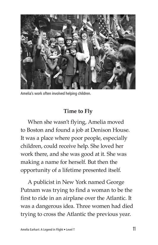 Book Preview For Amelia Earhart: A Legend in Flight Page 11