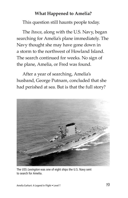 Book Preview For Amelia Earhart: A Legend in Flight Page 19