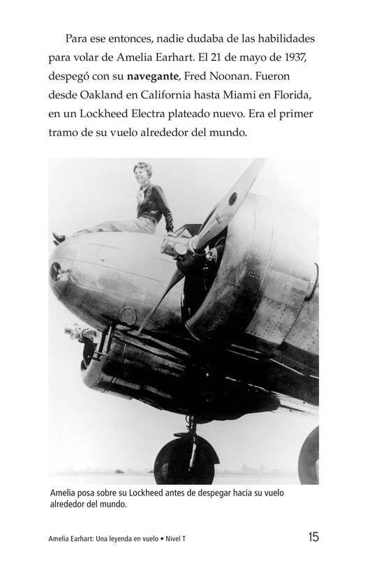 Book Preview For Amelia Earhart: A Legend in Flight Page 15