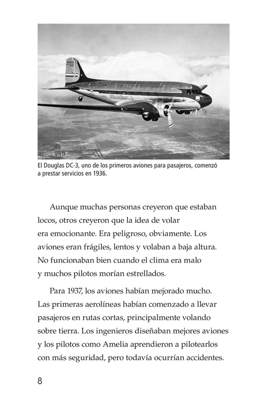 Book Preview For Amelia Earhart: A Legend in Flight Page 8