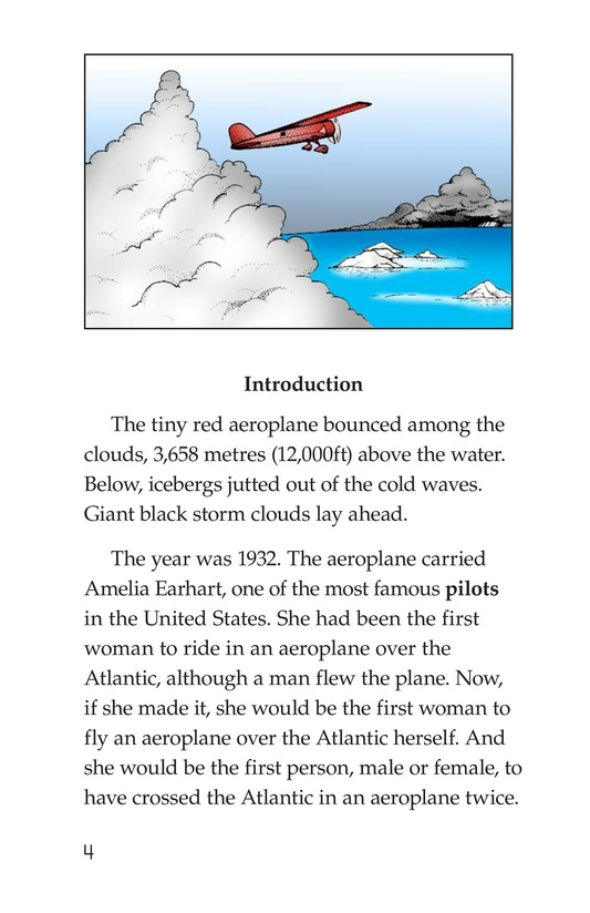 Book Preview For Amelia Earhart: A Legend in Flight Page 4