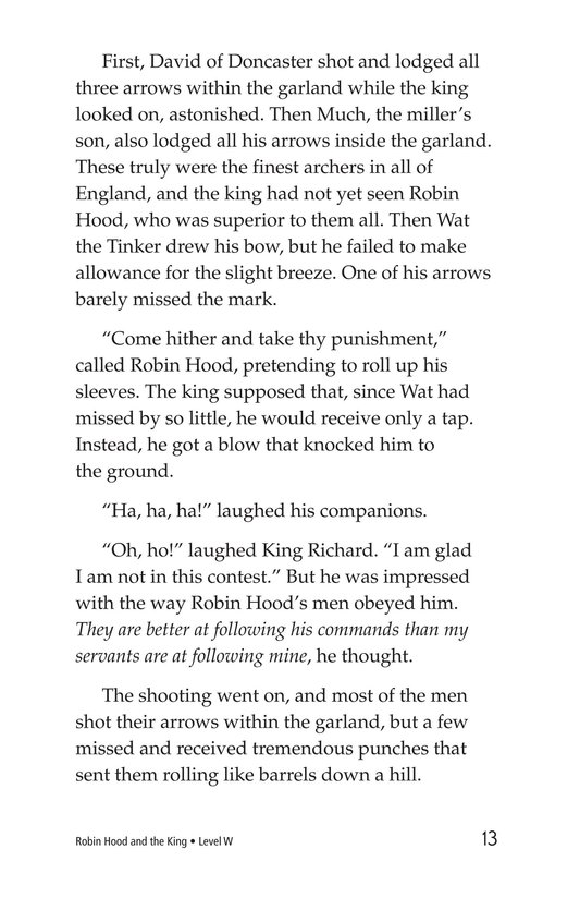 Book Preview For Robin Hood and the King Page 13